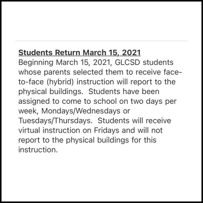 CLARIFICATION REGARDING SCHOOL OPENING Featured Photo