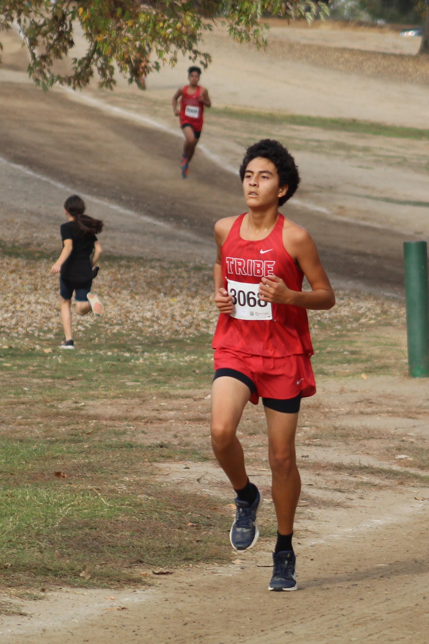 Nicholas Lopez running