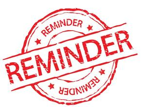 Image of Reminder Stamp