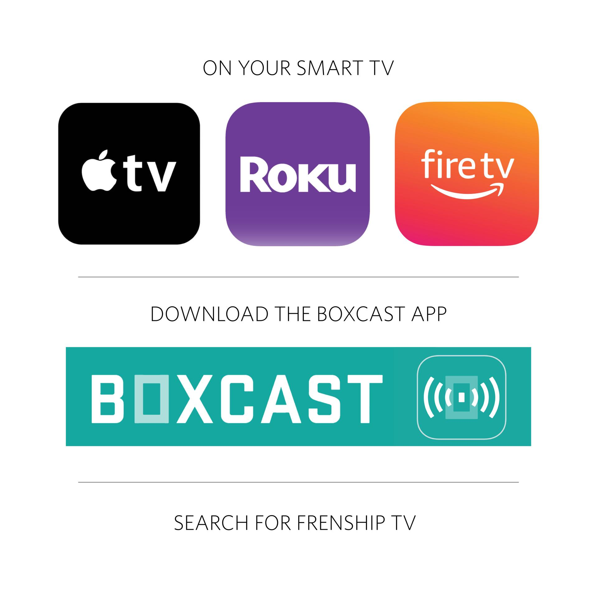 watch on smart tv through boxcast