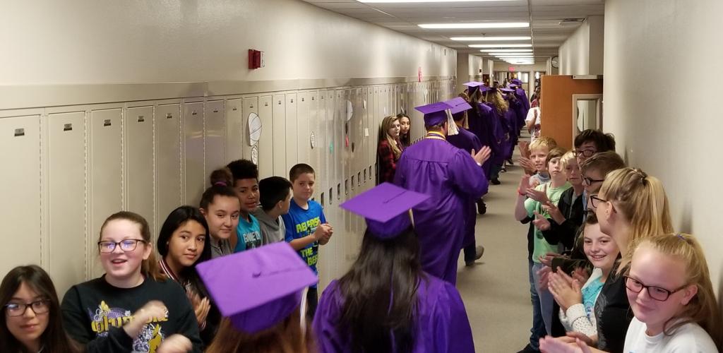 Middle School Senior march