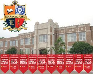 10 Edinburg CISD schools earn national Honor Roll distinctions.