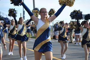 Knochettes in parade.