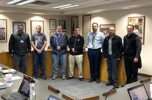 Canon City Schools Board of Education Recognized Military Veterans Present in the Room