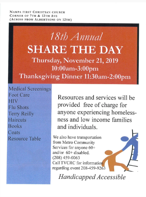 Share the Day