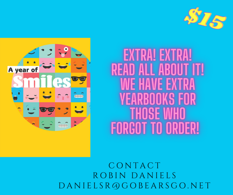 EXTRA YEARBOOKS AVAILABLE Featured Photo