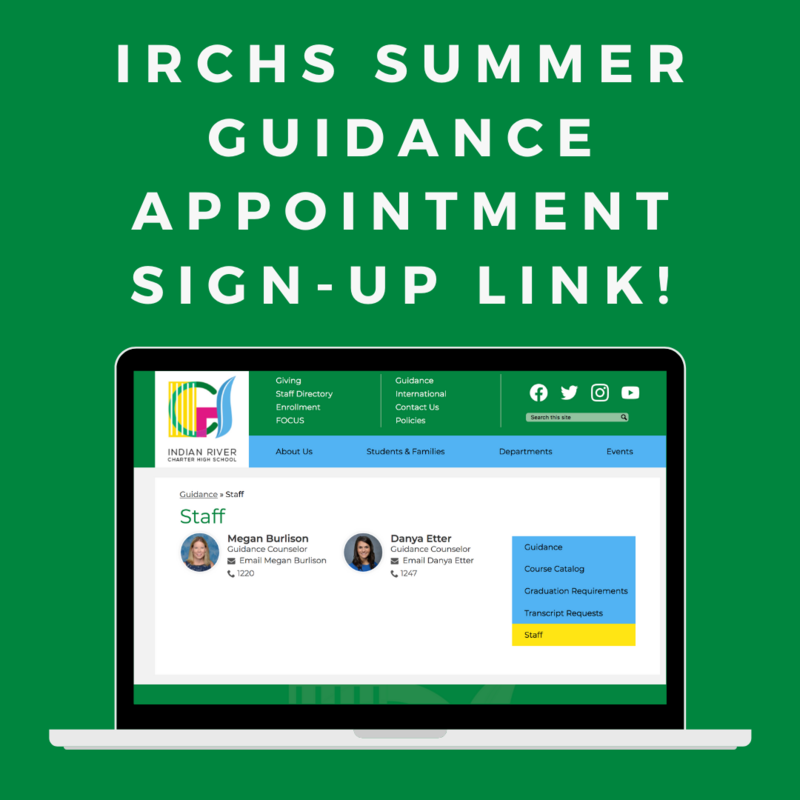 Summer Guidance Appointments Featured Photo