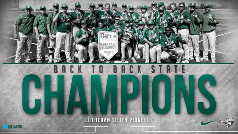 LSA Baseball Wins Back to Back State Titles Thumbnail Image