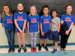JRES 3rd and 4th spelling team