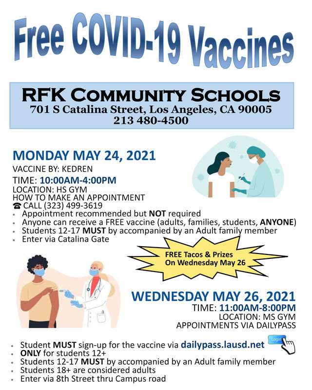Student COVID Vaccinations Featured Photo