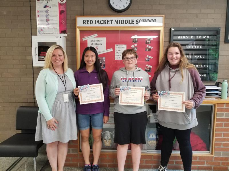 June Students of the Month
