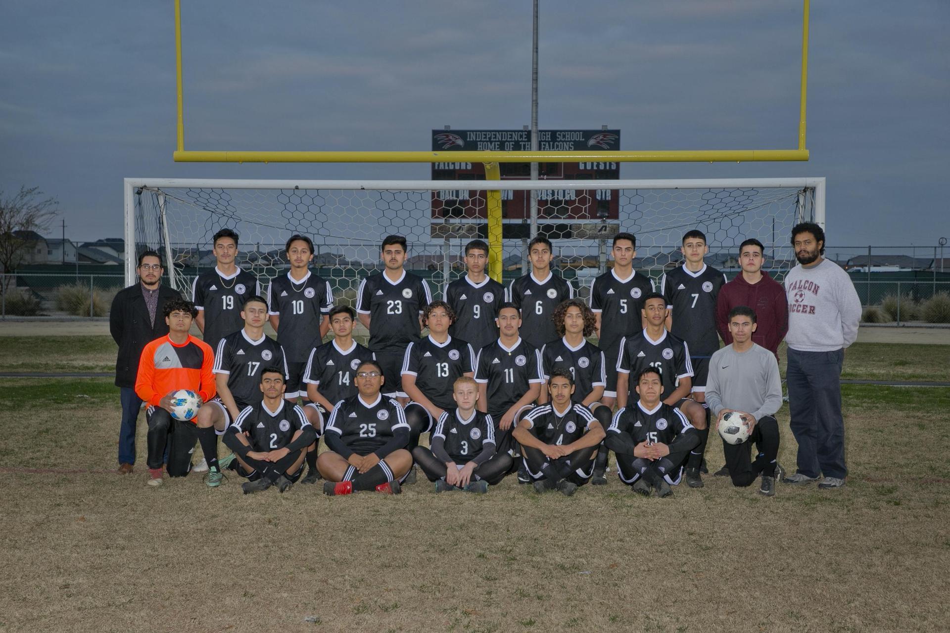 Varsity Boys Soccer 2018-19