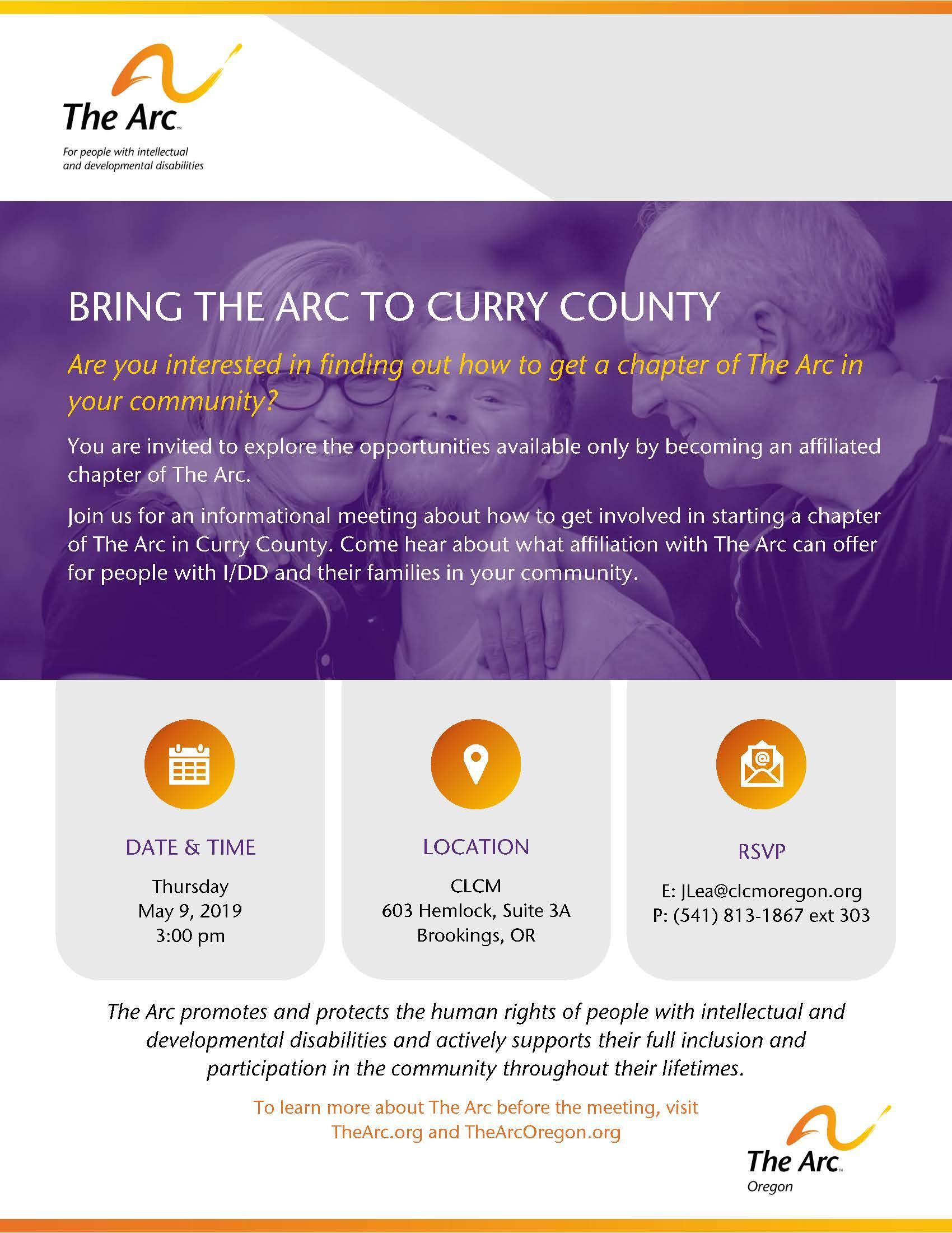 Arc Community Meeting