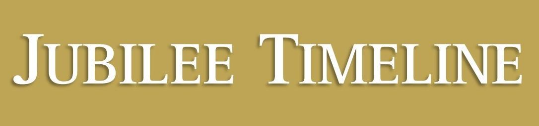 Jubilee Timeline