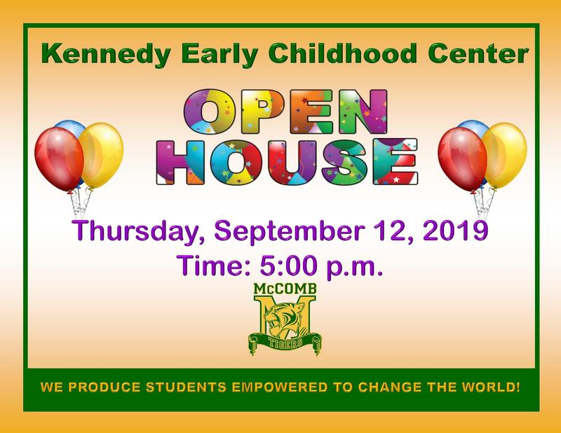 Kennedy Early Childhood Center Open House 2019