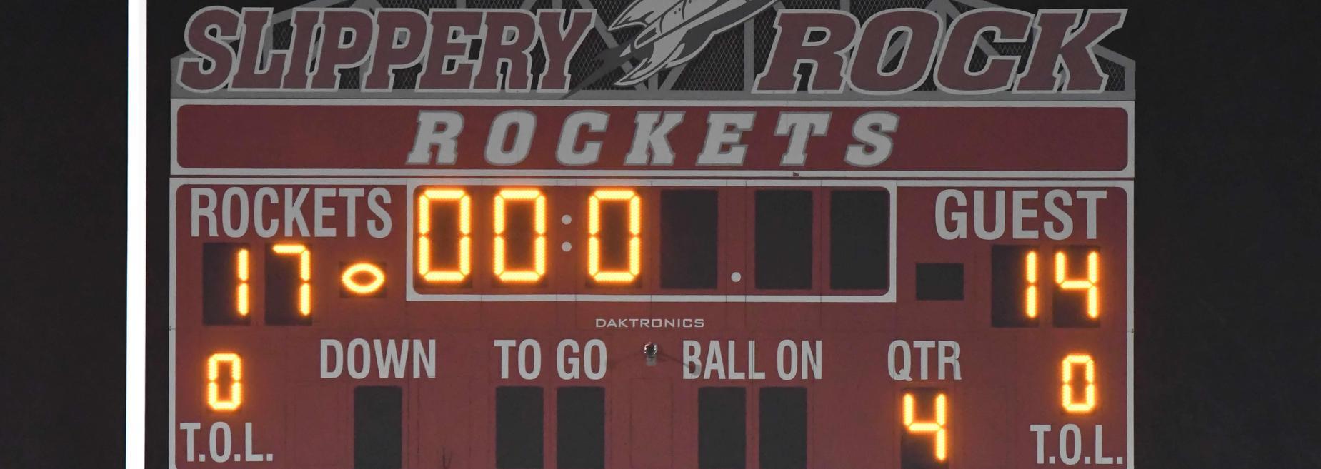 Football against Grove City October 9, 2020
