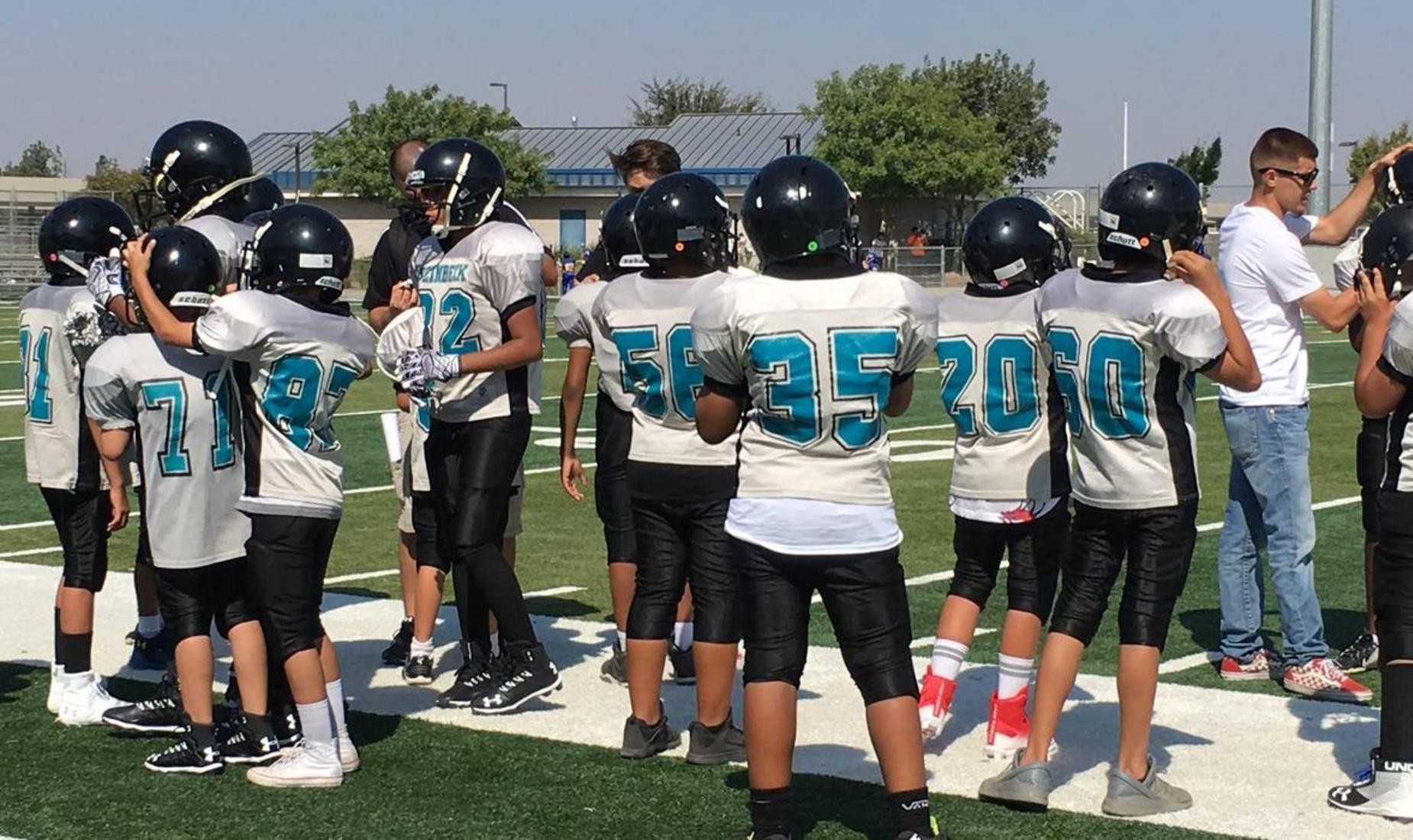 The Steinbeck Sharks football team