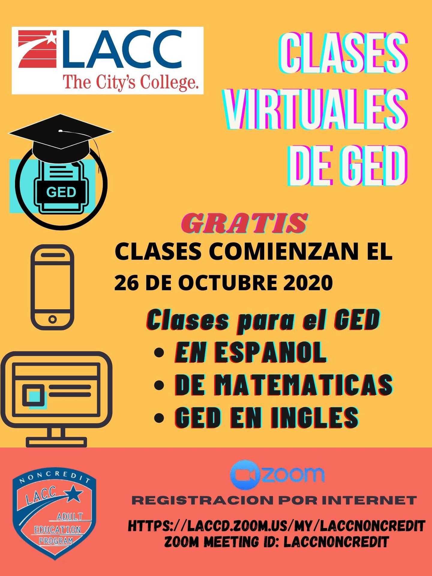 Clases Virtuales de Servicio de GED