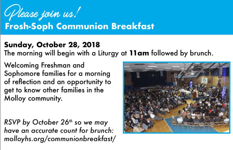Frosh-Soph Communion Breakfast Featured Photo