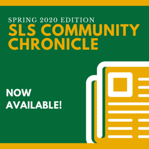 Spring 2020 Community Chronicle now available