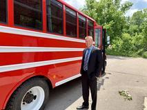 The Dragon Diner - Swartz Creek Community Schools food bus!