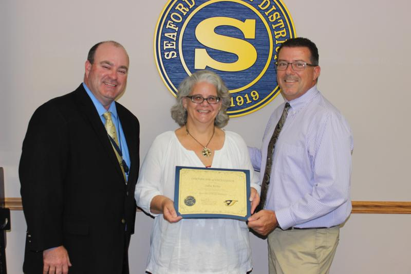 Blades Elementary School's Julie Kirby Named Mid-Atlantic Manager of the Year Featured Photo