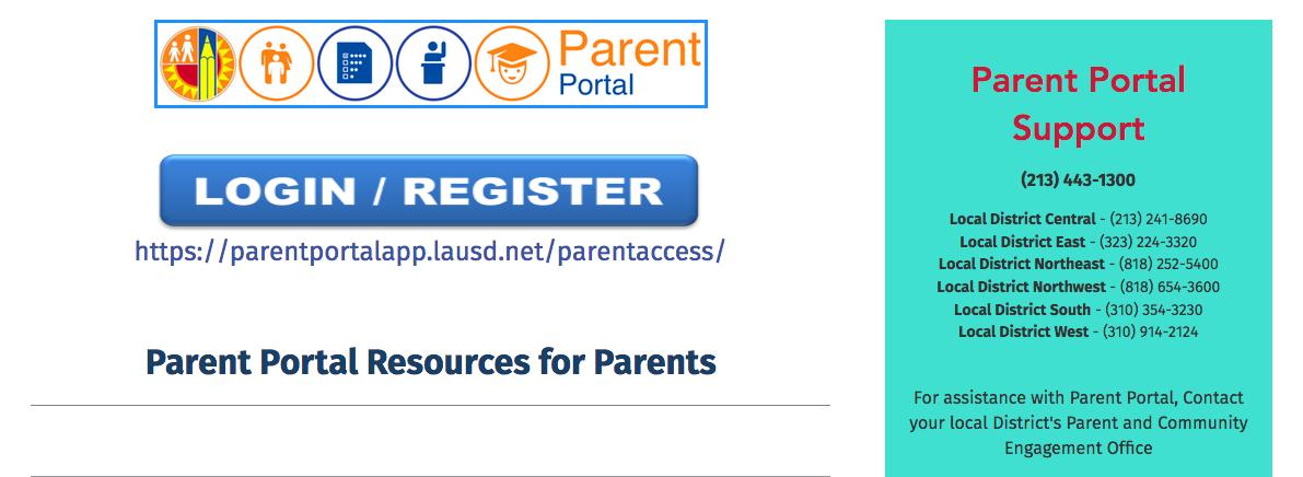 Parent Portal/Schoology Support