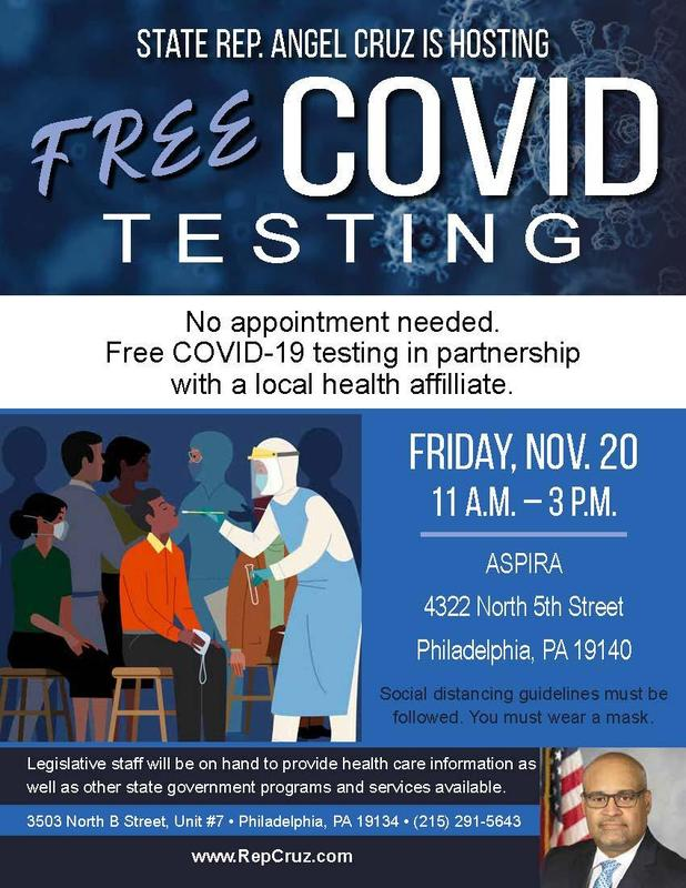 Cruz to partner with Temple Health to provide free community-wide COVID-19 testing Featured Photo
