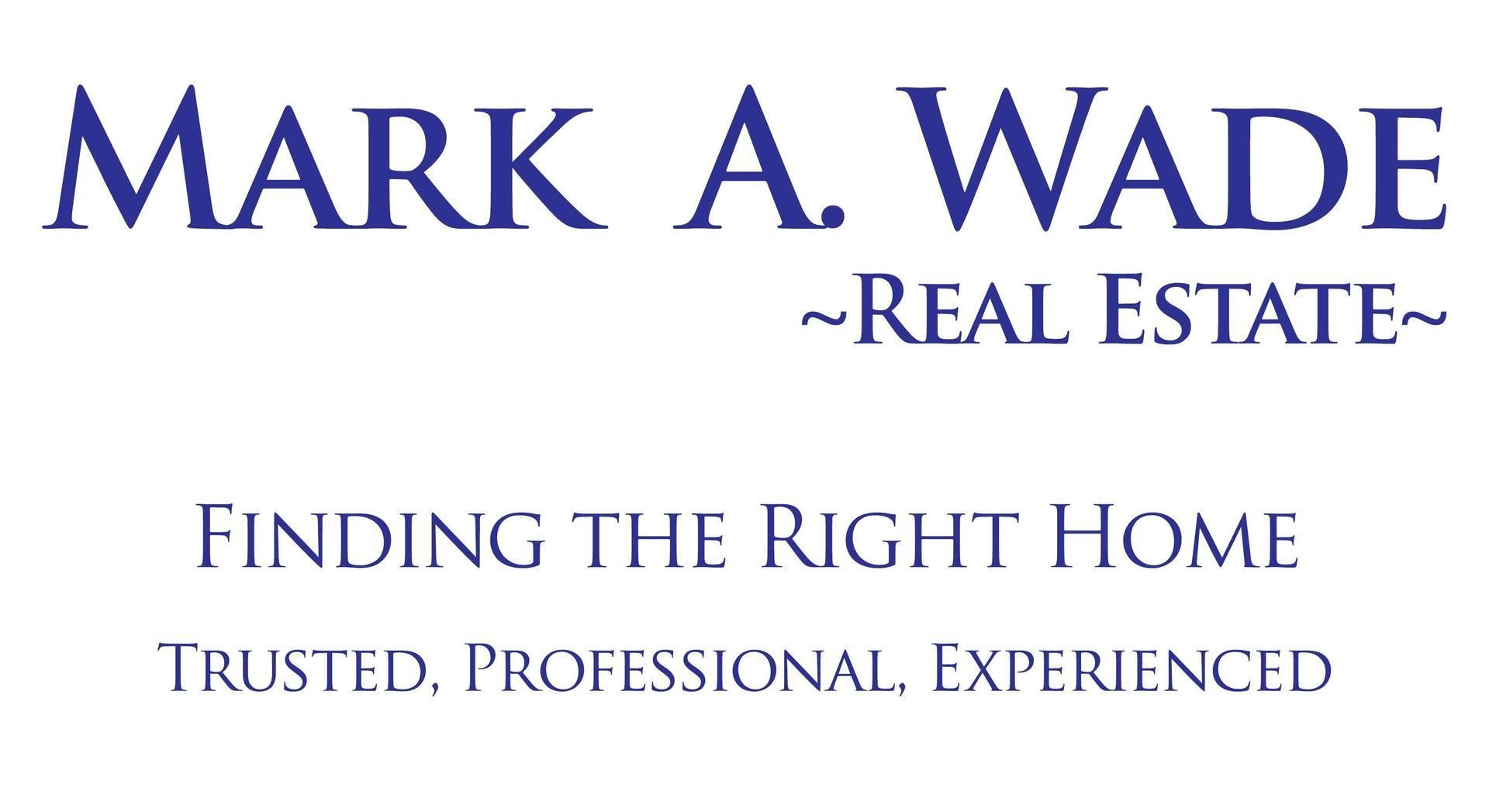 Mark A. Wade Real Estate logo
