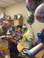 Celebrating a special birthday!
