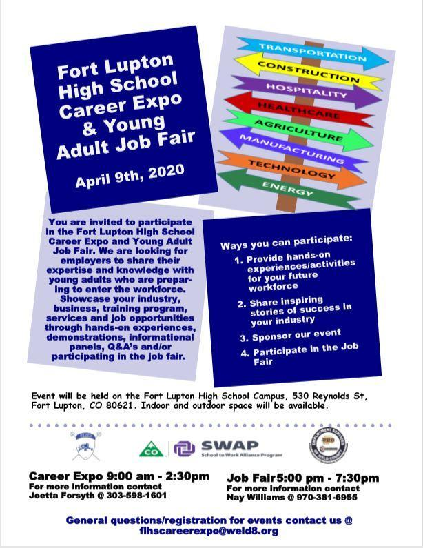 FLHS Career Expo & Young Adult Job Fair