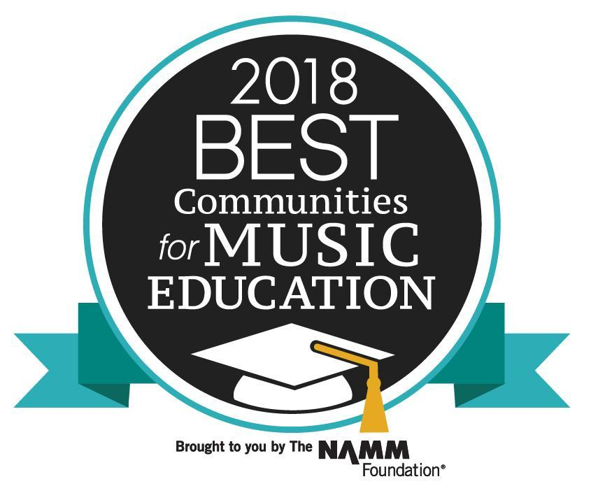 Honeoye is once again a 2018 Best Community for Music Education-one of 586 selected nation wide for this honor. Congratulations to everyone and thank you for your support!
