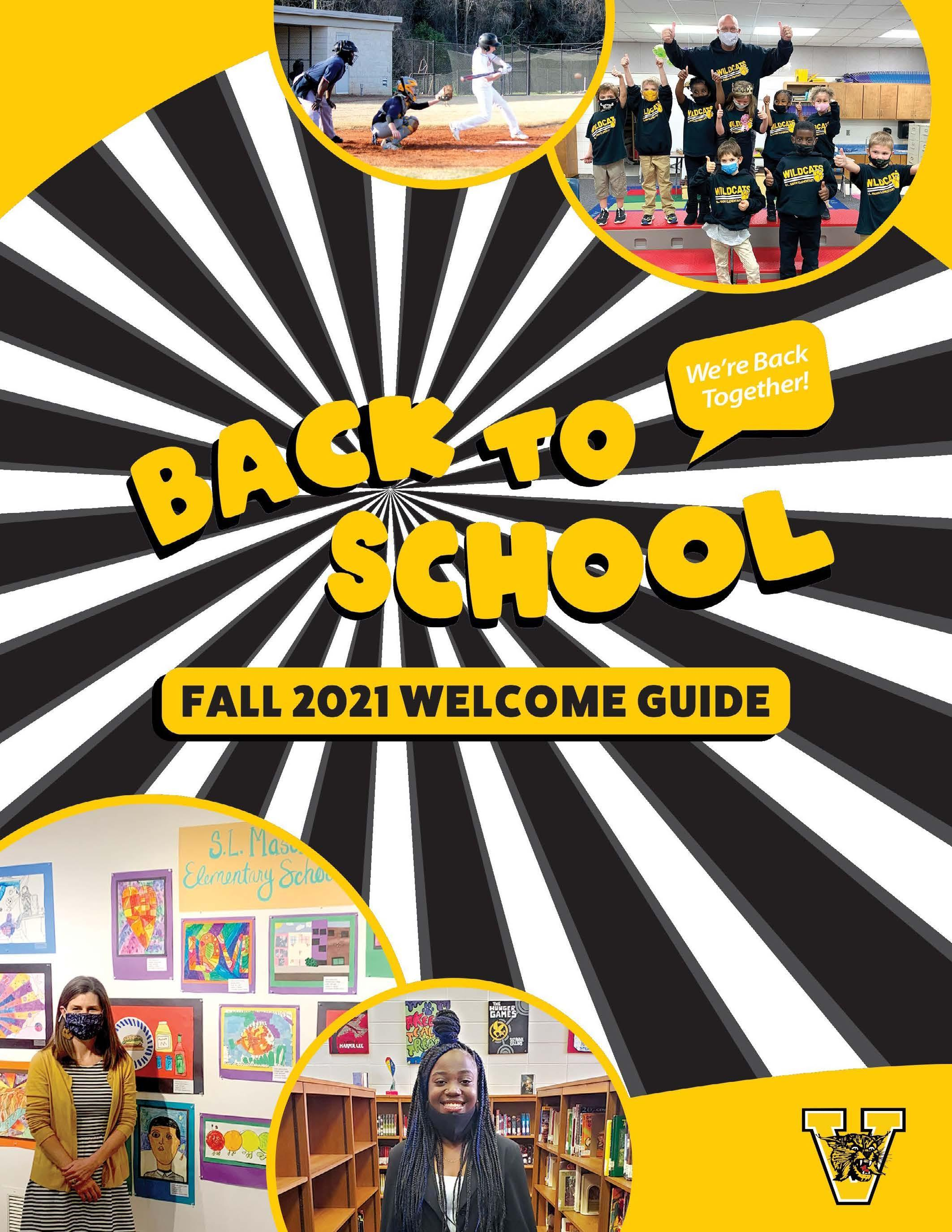 VCS Back to School Fall 2021 Welcome Guide