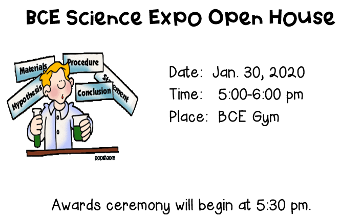 Science Expo Open House
