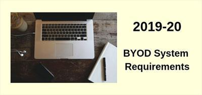 19-20 BYOD System Requirements