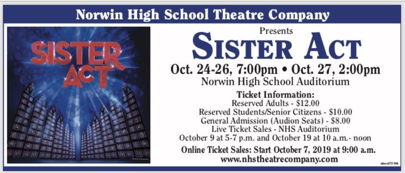 Sister Act Information