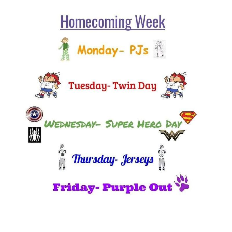Homecoming Theme Days Announced! Thumbnail Image