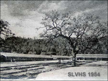 Picture of SLVHS in 1954