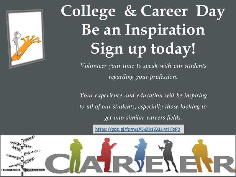 College and Career Day  -  Need Your Help! Featured Photo