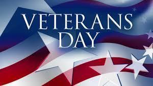 NO SCHOOL-Veterans Day, Monday November 12, 2018 Featured Photo