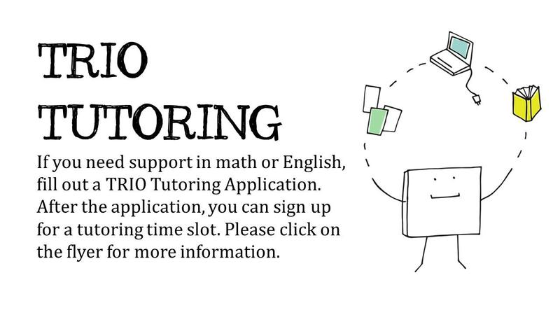 Math & English Tutoring by TRIO Featured Photo