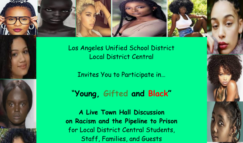 Local District Central--Young, Gifted and Black Townhall Meeting Featured Photo