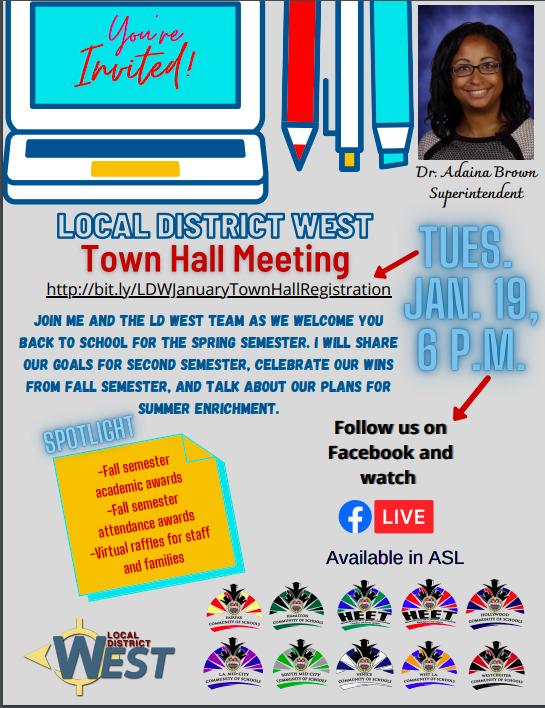 LDW Town Hall Meeting Thumbnail Image