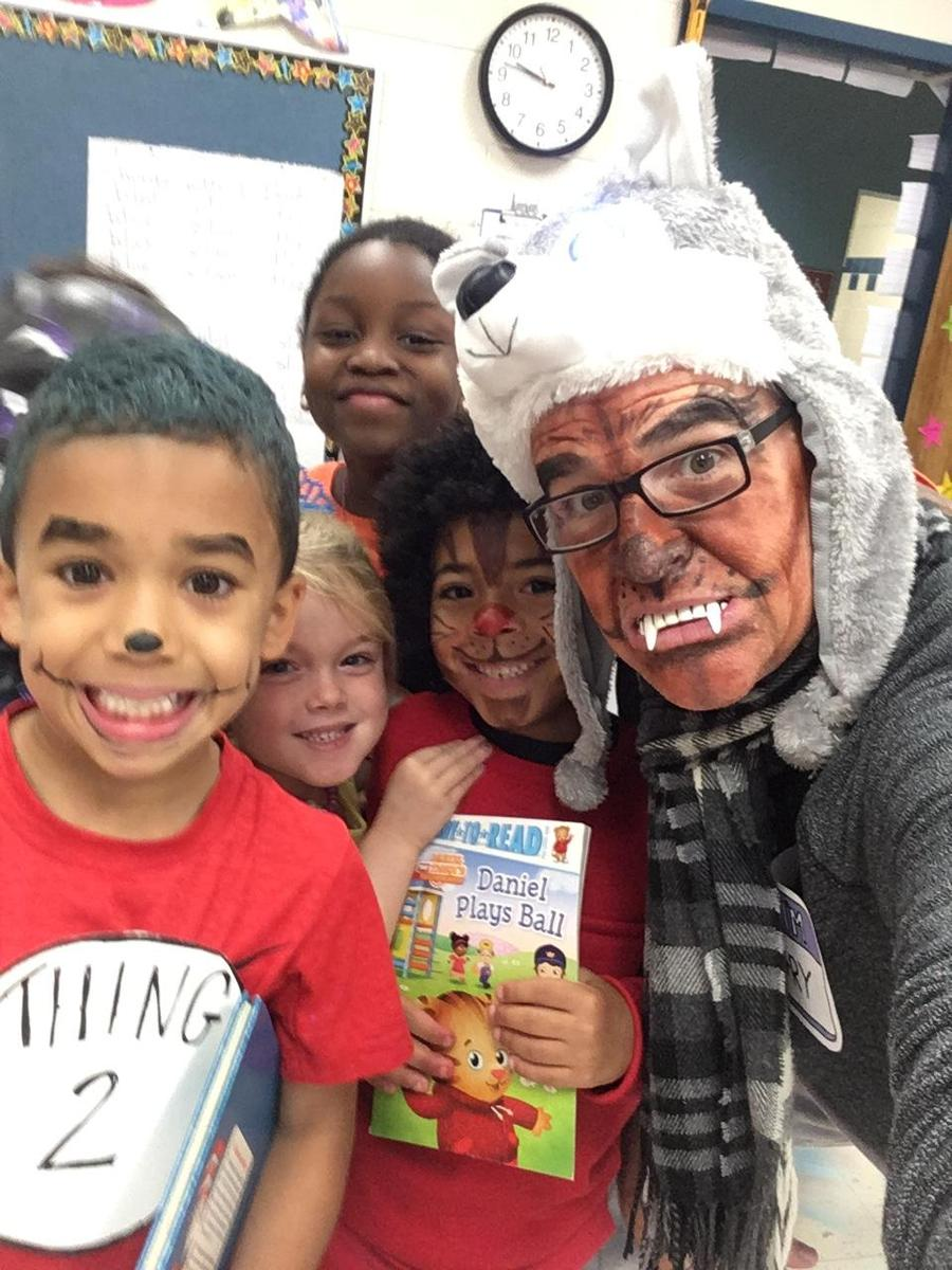 On book character day