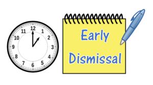 1pm dismissal