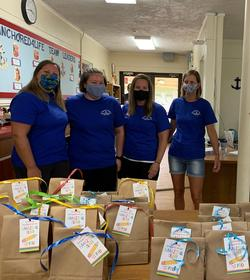 PTO with Goodie Bags for teachers