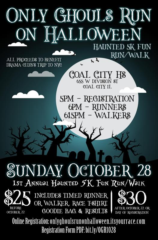 October 28th - Ghouls Run Fundraising event