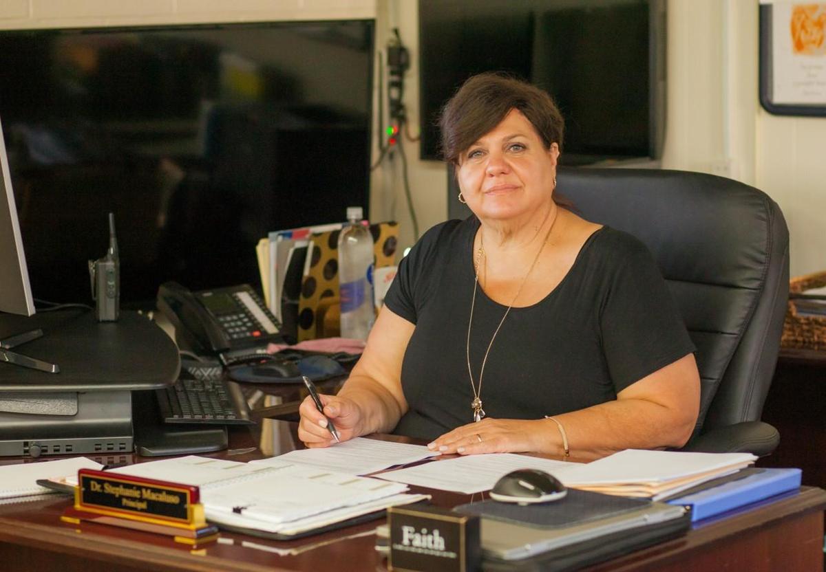 Dr. Stephanie Macaluso, Principal