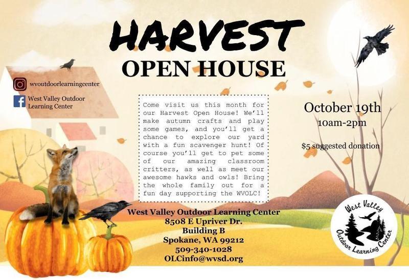 OLC Open House flyer