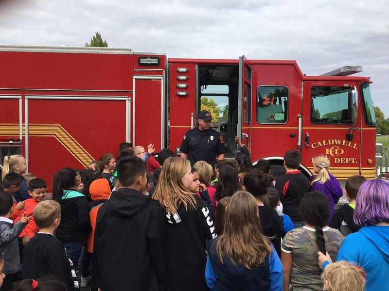 Caldwell Fire Department Visits Washington Thumbnail Image